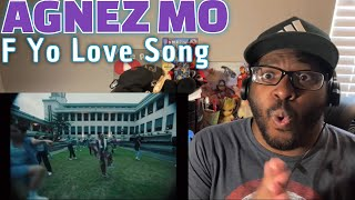 Download lagu She's BACK!!! AGNEZ MO - F Yo Love Song (Official Music Video) REACTION!!!!