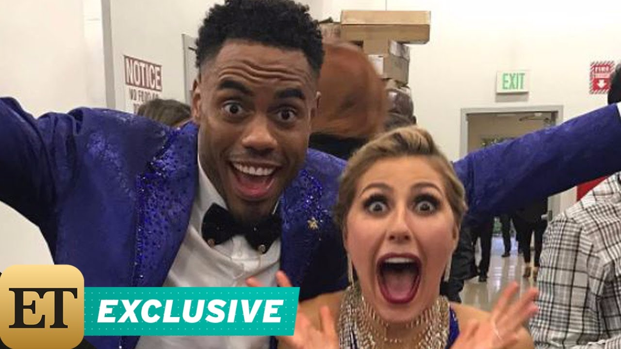EXCLUSIVE: Rashad Jennings on Making the 'DWTS' Finals With Emma Slater: 'Being Here Is So Thrilling'