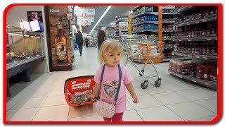 Anabella si 100 de lei la supermarket
