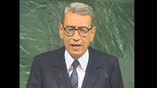 Appointment of Mr. Boutros Boutros-Ghali as Secretary-General of the United Nations - 1991