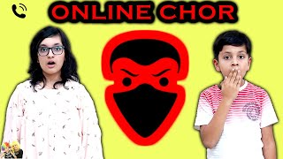 ONLINE CHOR   Short Movie for Family   Good Habits   Aayu and Pihu Show