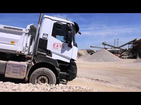 Renault Trucks Construction Days Österreich 2015