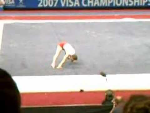 Paul Hamm Floor 2007 Nationals