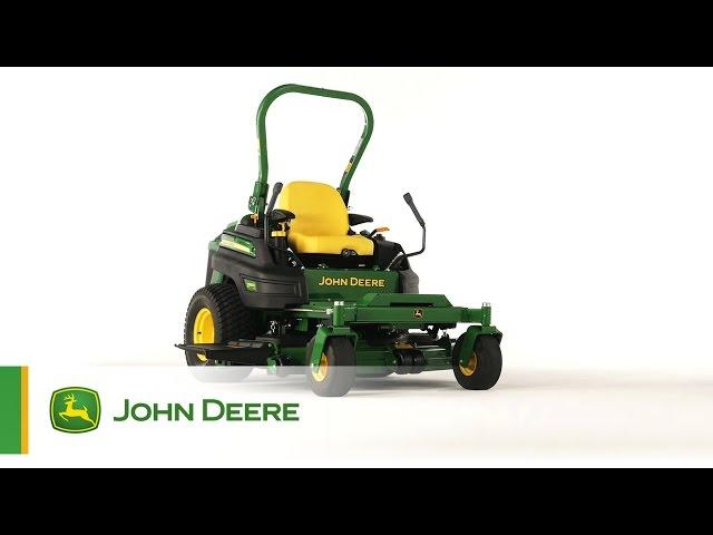 Tondeuse à braquage zéro John Deere Z997R