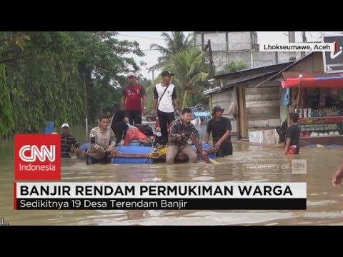 19 Desa di Aceh Utara Lumpuh Terendam Banjir