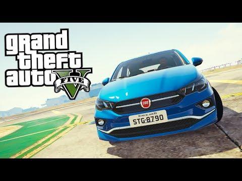 Free Download Videos of GTA V: Mods - FUGA INSANA COM Fiat Cronos