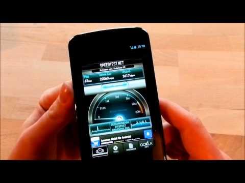 Nexus 4 Speedtest UMTS DC-HSPA+