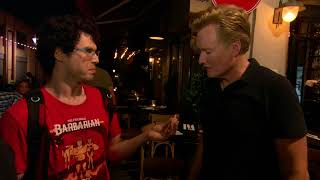 Conan Visits Israel and is Embraced by the Locals