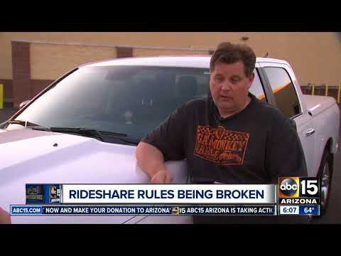 Drivers say rideshare apps and customers pressure them to bend rules