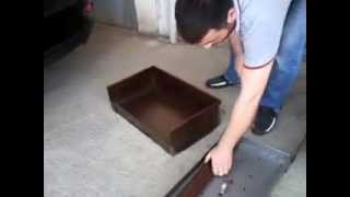 Davlumbazlı potatif mangal 60 35cm