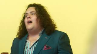Bring Him Home Jonathan Antoine 13th July 2014 (close up)
