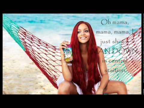 Rihanna Man Down Lyrics