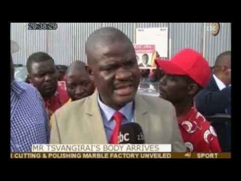 """Full ZBC Clip """"Eriza na Chamisa Handidi Kuvaona Pano"""" Gogo Tsvangirai Protests"""