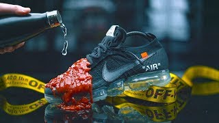 Unreleased 2018 New Off White x Nike Vapormax vs Ketchup - Crep Protect