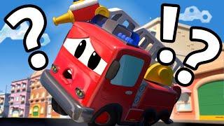 Phim hoạt hình về xe tải dành cho thiếu nhi -  Xe tải lò xo giải cứu xe cứu hỏa - Thành phố xe hơi