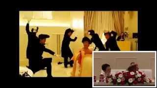 友人の結婚式で行った余興です。 映像後 「マブダチ」ダンス 4:35~
