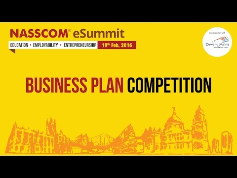 Business Plan Competition Part 1 - NASSCOM eSummit