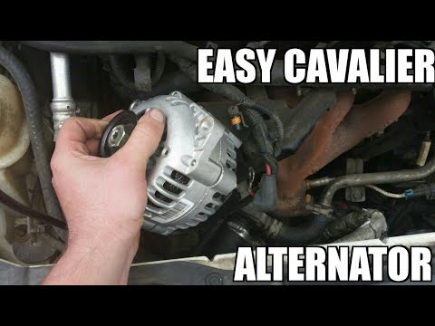 """Alternator 95-05 Chevy Cavalier 2.2l Replacement """"how To"""""""