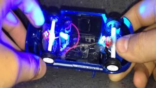 как сделать подсветку на игрушечную машинку