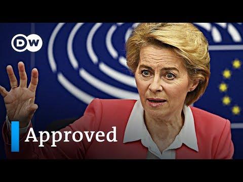 European Parliament approves new Commission under Ursula von der Leyen | DW News