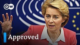 European Parliament approves new Commission under Ursula von der Leyen | DW News