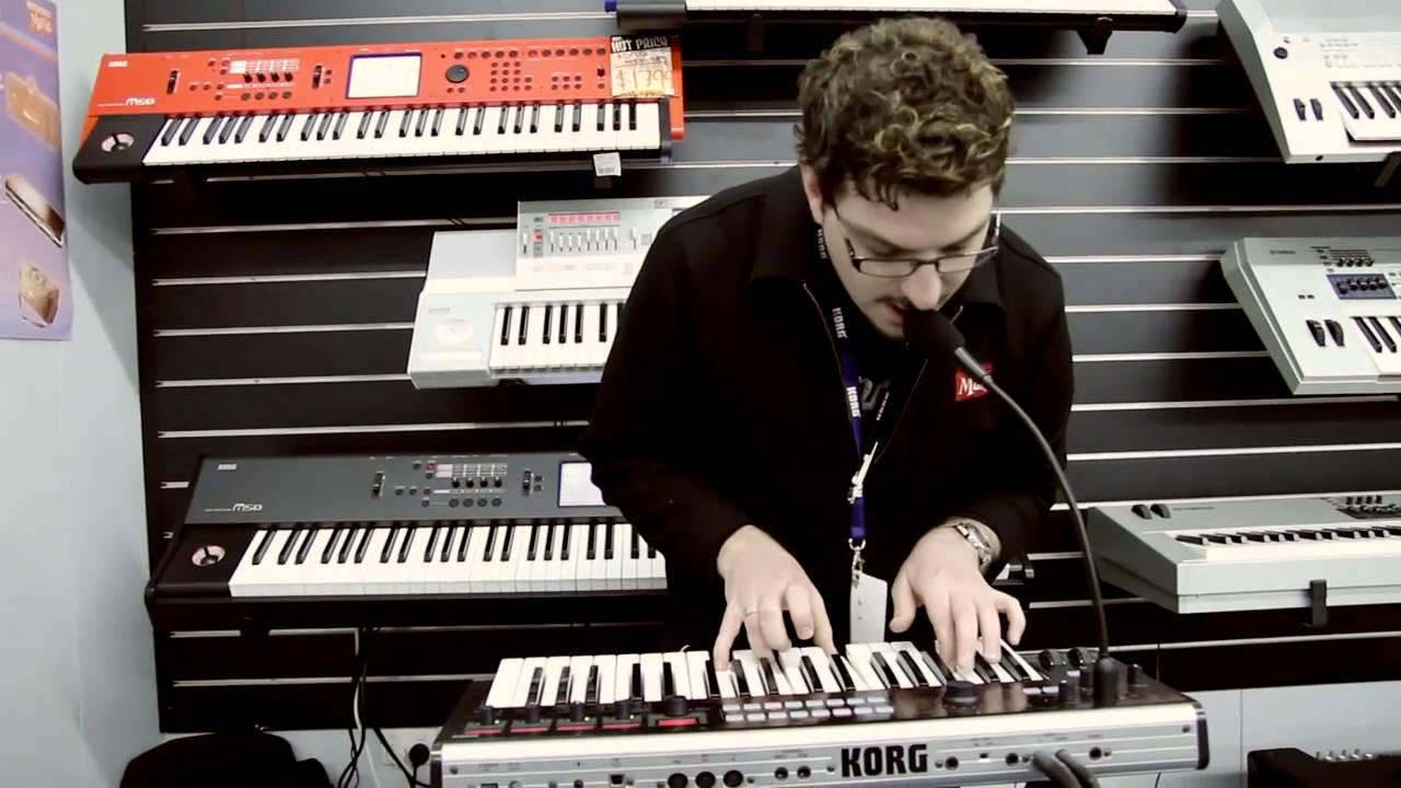 Korg R3 Synthesizer Vocoder Demo