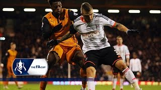 Fulham v Wolverhampton Wanderers - FA Cup Third Round | Goals & Highlights