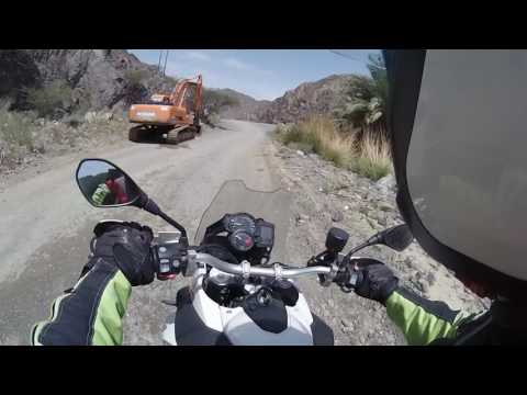 Lost in the mountains , on the way back Oman.  Paul Murley BMW F800GS
