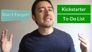 6 Things To Do Before Going On Kickstarter (#5 Is CRITICAL!)