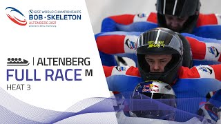 Altenberg | BMW IBSF World Championships 2021 - 4-Man Bobsleigh Heat 3 | IBSF Official