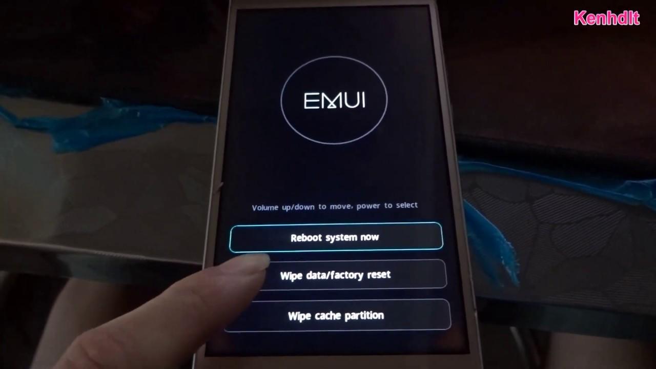 Mẹo sửa hard reset điện thoại trung quốc Honor CAM-UL00 Unlock Password