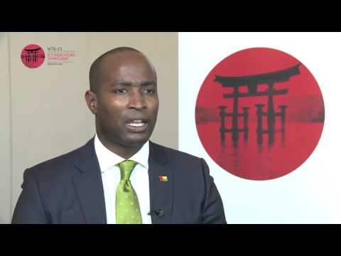ITU INTERVIEWS @ WTIS-15:  H. E. Joao Bernardo Vieira, Minister, Transport & Comms. Guinea Bissau