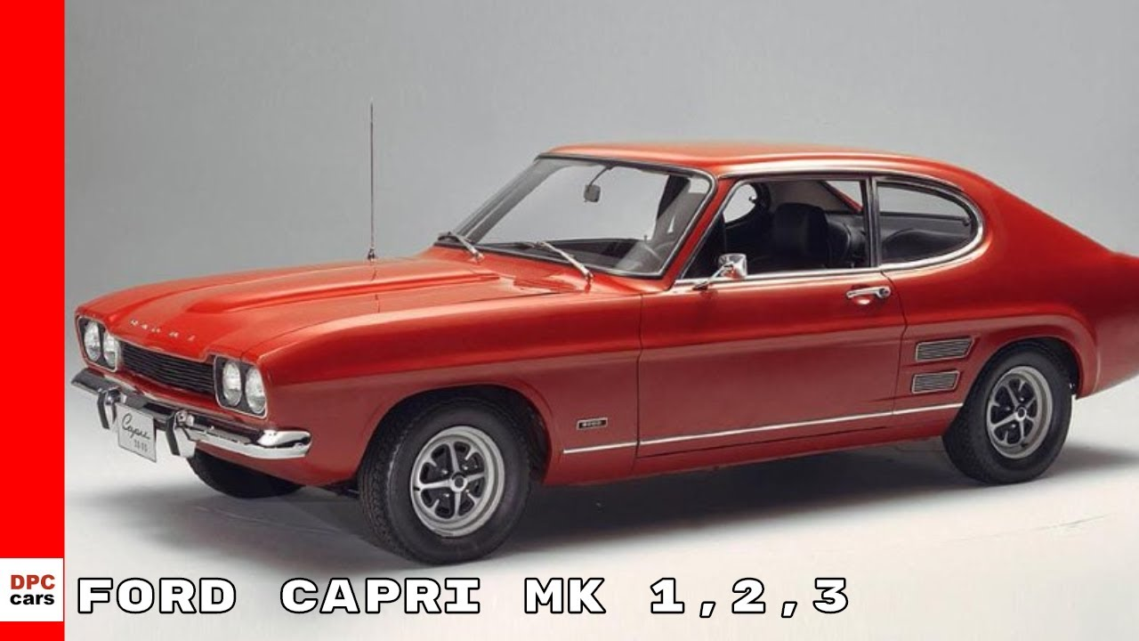 1978 ford capri red