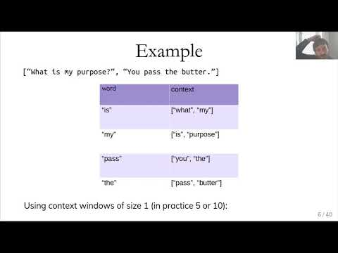 Applied ML 2020 - 17 - Word vectors and document embeddings