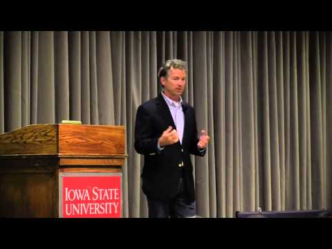 Rand Paul Q&A At Iowa State University