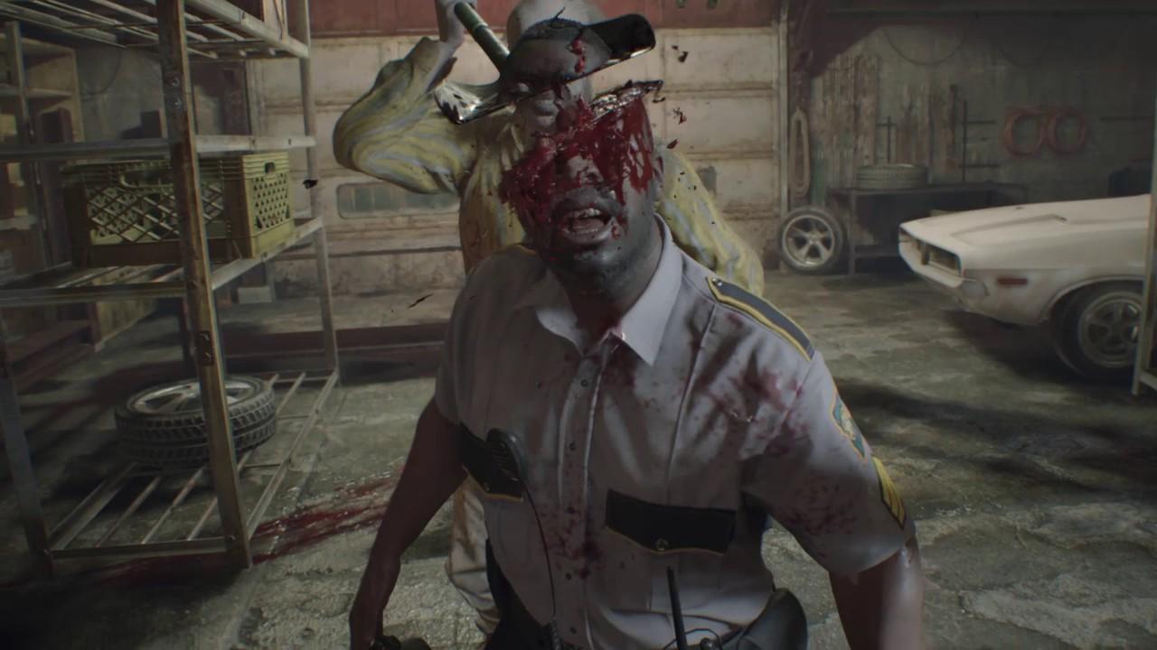 Resident Evil 7 Infinite Ammo Jack Garage Fight Youtube