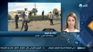 خرق حظر التجوال وتجدد الاشتباكات في تونس