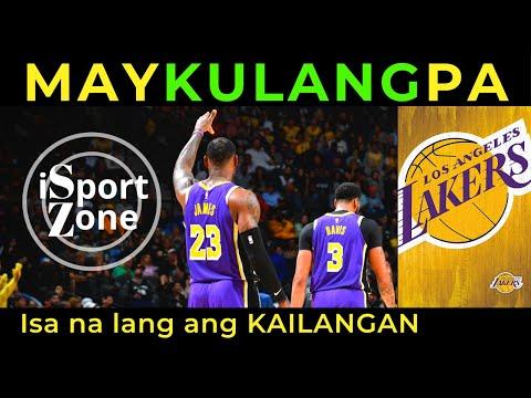 Lakers ISA na LANG ang KULANG Para Maging UNBEATABLE.