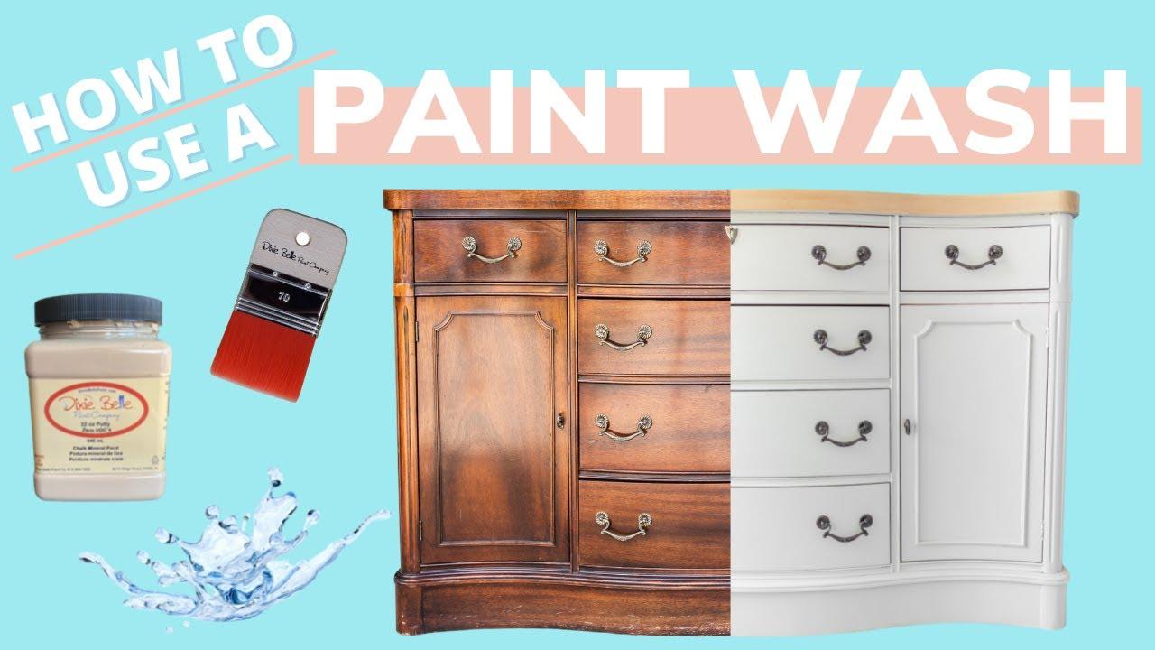 How to Lighten Wood WITHOUT Stain or Bleach | Buffett Dresser Flip |