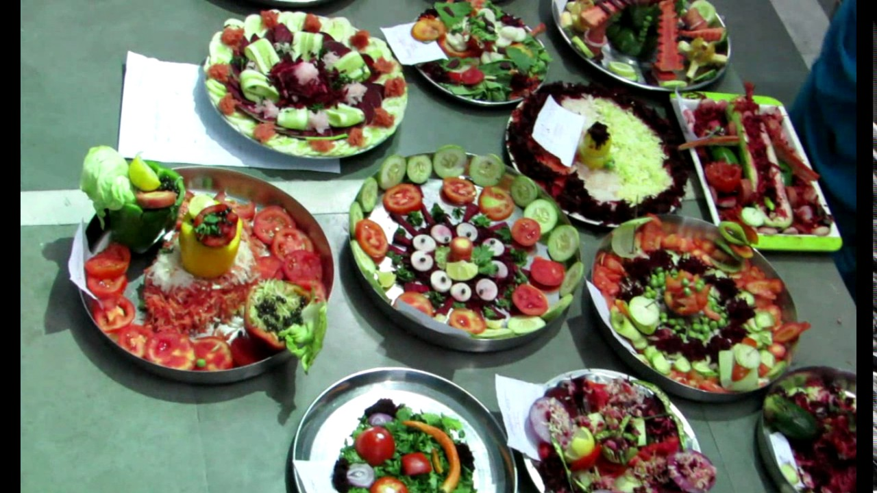 Salad Decoration Competition 2 Youtube