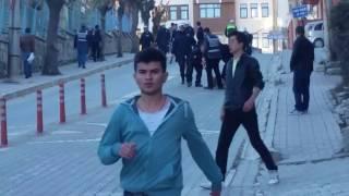 Kütahya spor Altay maçı sonrası olaylar çıktı.