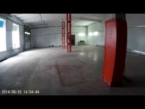 Просмотр помещения под автосервис в августе - Воздухоплавательная 2.