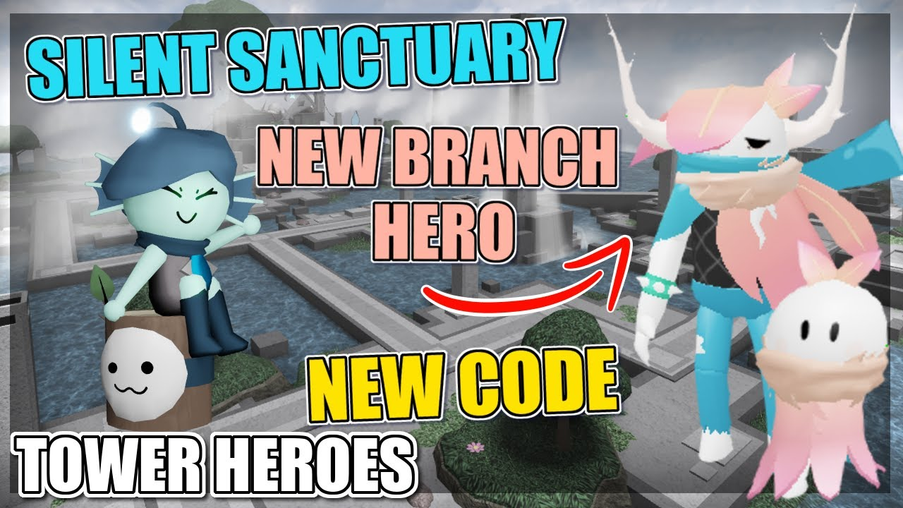 Tower Heroes - NEW MAP AND BRANCH HERO SHOWCASE + CODE ...