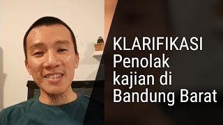 KLARIFIKASI Penolakan Kajian di Bandung Barat
