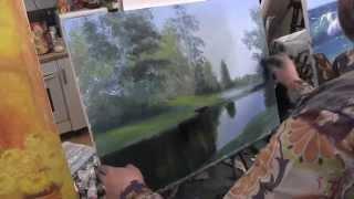 Летний лес, научиться рисовать пейзаж, Сахаров(ВСЕ НОВОЕ НА http://saharov.tv Официальные сайты: http://artsaharov.com http://faniyasaharova.com http://polinasaharova.com http://ladasaharova.com ..., 2014-05-17T15:12:19.000Z)