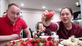 Vlog 516 ll  Nhớ Bà 2 Dư Âm Ăn Dâu Tây Và Sầu Riêng Trước Khi Bà 2 Về