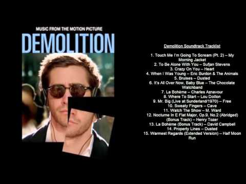 Demolition Soundtrack Tracklist