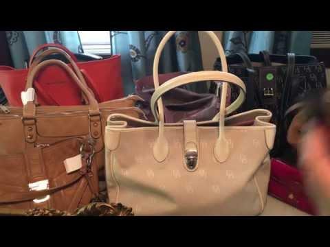 Handbag Makeup Thrift Haul Garage sale Finds