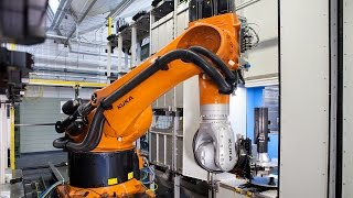 MERZ Increases Machining Productivity with KUKA KR FORTEC Robot