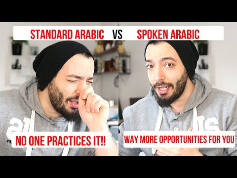Spoken Arabic vs MSA (Fusha) | Pros & Cons